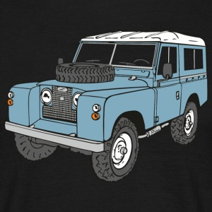 Landy Land Rover Series2a 4x4 Off-Road T-Shirts - Men's T-Shirt
