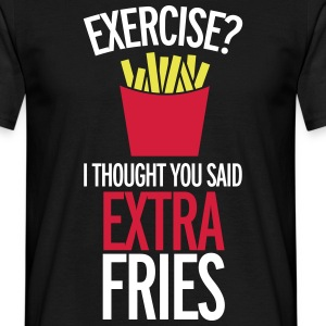 Extra Fries T-Shirts - Men's T-Shirt
