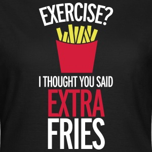 Extra Fries T-shirts - Vrouwen T-shirt