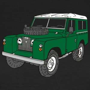 Landy Land Rover Defender Series Jeep T-shirts - Vrouwen T-shirt