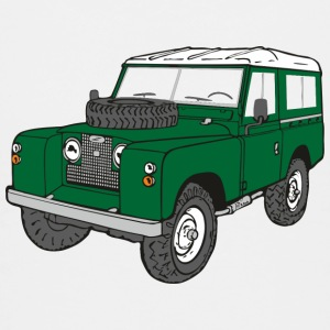 Landy Land Rover Defender Serie Jeep T-Shirts - Teenager Premium T-Shirt