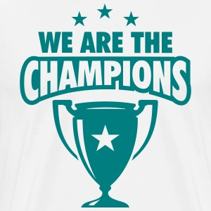 WE ARE THE CHAMPIONS 3 STERNE T-Shirts - Männer Premium T-Shirt