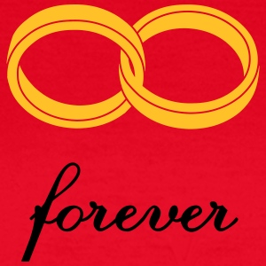 wedding rings forever T-Shirts - Women's T-Shirt