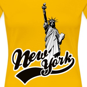 new york usa T-Shirts - Women's Premium T-Shirt