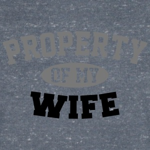Property Of My Wife T-Shirts - Men's V-Neck T-Shirt