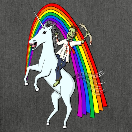 Zombie Riding A Unicorn