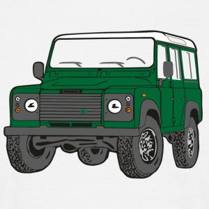 Offroad Defender Land Rover 110 4x4 Tee shirts - T-shirt Homme