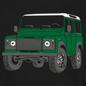Offroad Defender Land Rover 110 4x4 T-Shirts - Men's T-Shirt