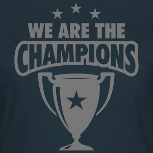 WE ARE THE CHAMPIONS 3 STERNE T-Shirts - Frauen T-Shirt
