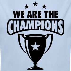WE ARE THE CHAMPIONS 3 STERNE Pullover & Hoodies - Baby Bio-Langarm-Body