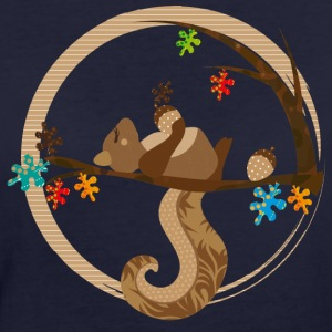 A squirrel is sleeping T-Shirts - Women's Organic T-shirt