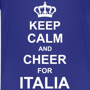 keep_calm_and_cheer_for_italia_g1 Shirts - Kids' Premium T-Shirt