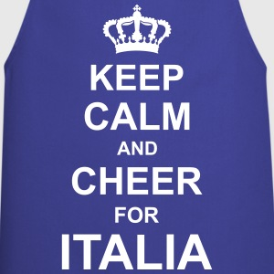 keep_calm_and_cheer_for_italia_g1 Forklæder - Forklæde