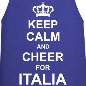 keep_calm_and_cheer_for_italia_g1 Forklær - Kokkeforkle