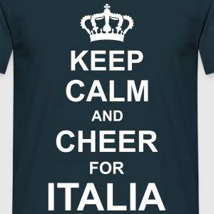keep_calm_and_cheer_for_italia_g1 T-Shirts - Men's T-Shirt