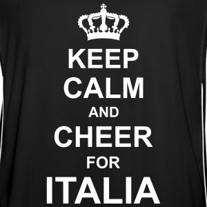 keep_calm_and_cheer_for_italia_g1 T-skjorter - Fotballdrakt for menn