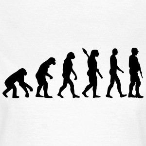 Evolution Soldat T-Shirts - Frauen T-Shirt