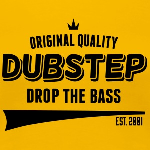 Original Dubstep - Drop The Bass Koszulki - Koszulka damska Premium