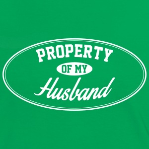 PROPERTY OF MY HUSBAND T-Shirts - Women's Ringer T-Shirt