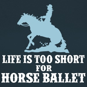 Horse Ballet Ladies 2C T-Shirts - Frauen T-Shirt