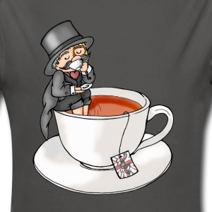 Teatime like a Sit with Earl Grey Pullover & Hoodies - Baby Bio-Langarm-Body