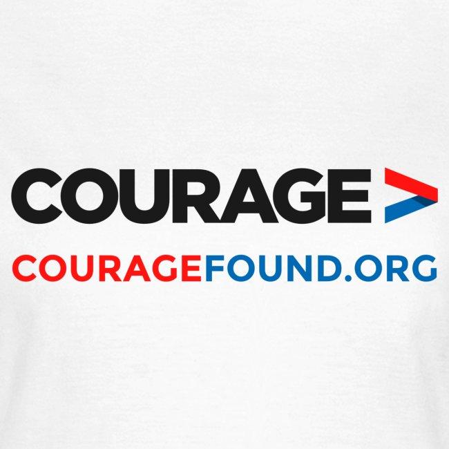 Courage Women's T-Shirt (white)