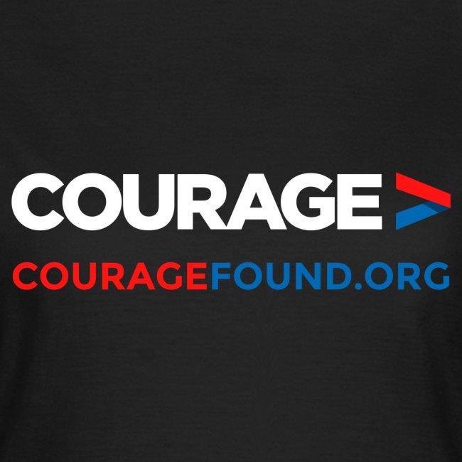 Courage Women's T-Shirt (black/colour)
