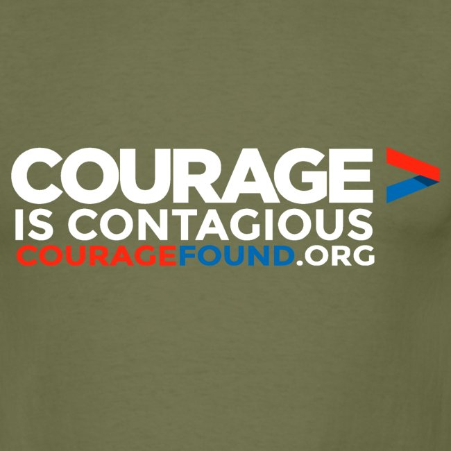Courage is Contagious Men's T-Shirt