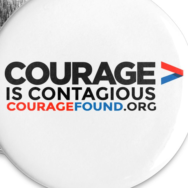 Courage is Contagious Badges