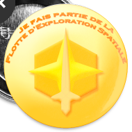 Motif ~ Badge Flotte d'Exploration Spatiale