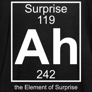 Ah, the Element of Surprise - Women's Tank Top by Bella