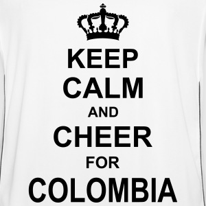 keep_calm_and_cheer_for_colombia_g1 T-shirts - Mannen voetbal shirt