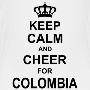 keep_calm_and_cheer_for_colombia_g1 T-Shirts - Kinder Premium T-Shirt