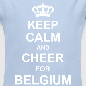 keep_calm_and_cheer_for_belgium_g1 Hoodies - Longlseeve Baby Bodysuit