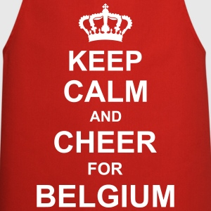 keep_calm_and_cheer_for_belgium_g1  Aprons - Cooking Apron