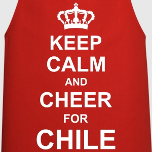 keep_calm_and_cheer_for_chile_g1 Forklæder - Forklæde