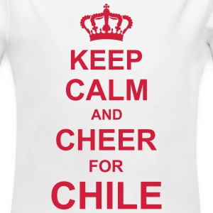 keep_calm_and_cheer_for_chile_g1 Sweats - Body bébé bio manches longues