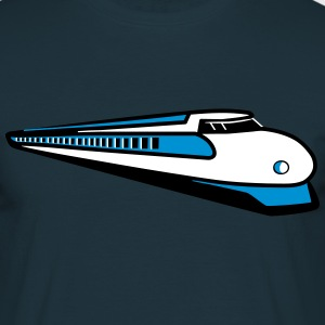 Train train ferroviaire Express Tee shirts - T-shirt Homme