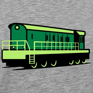 Train Rangieren locomotive Tee shirts - T-shirt Premium Homme