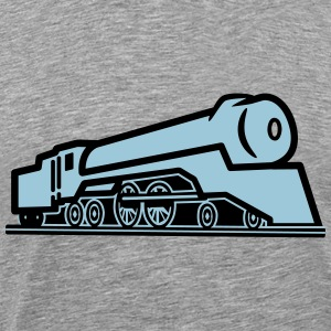 Train railway locomotive T-Shirts - Men's Premium T-Shirt