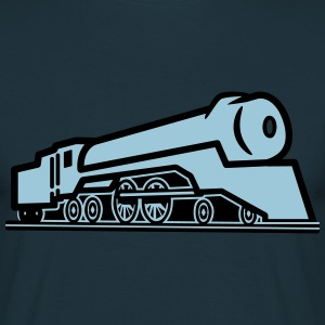 Train railway locomotive T-Shirts - Men's T-Shirt