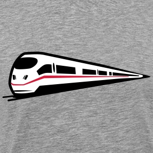 Toget railway is T-shirts - Herre premium T-shirt