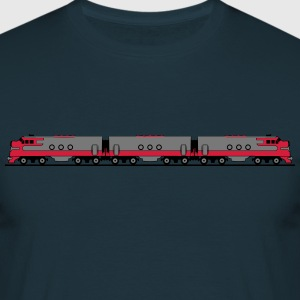 Train railway diesel locomotive wagon T-Shirts - Men's T-Shirt