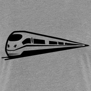 Toget railway is T-shirts - Dame premium T-shirt