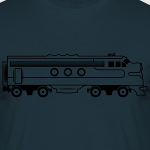 Train railway diesel locomotive T-Shirts - Men's T-Shirt