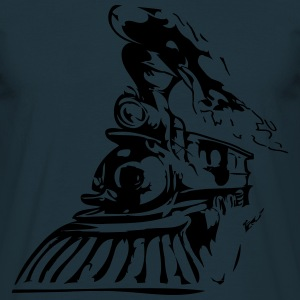 Tren occidental Camisetas - Camiseta hombre