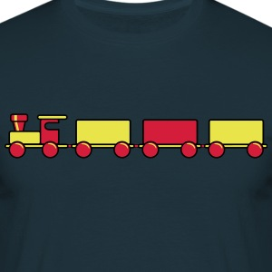 Toy train child baby T-Shirts - Men's T-Shirt