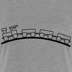 Toy train child baby T-Shirts - Women's Premium T-Shirt