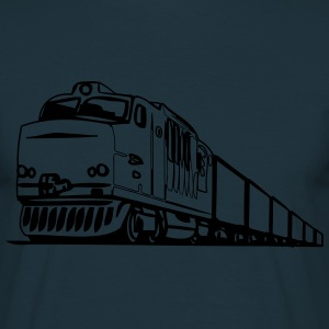 Freight railway locomotive T-Shirts - Men's T-Shirt