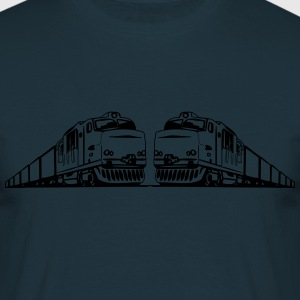 Freight train railway T-Shirts - Men's T-Shirt